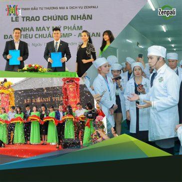 Thương hiệu mỹ phẩm Zenpali vinh dự được lên sóng Truyền hình Hà Nội